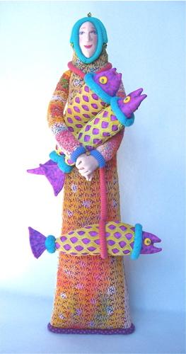 PiscesWoman22PurpleSpottedFish