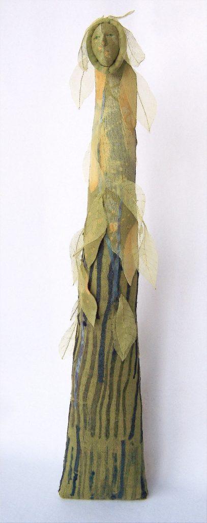 Green Woman - Jennifer Gould Designs