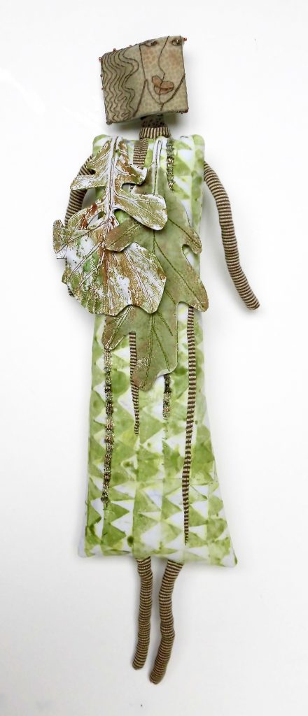 Oak Leaf Woman 2