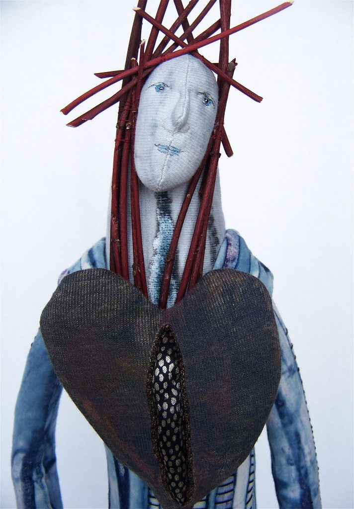 Woman in Cold Winter - Jennifer Gould Designs