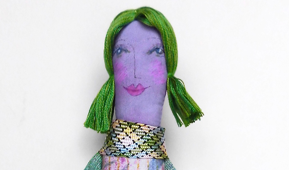 Art Doll - by Jennifer Gould