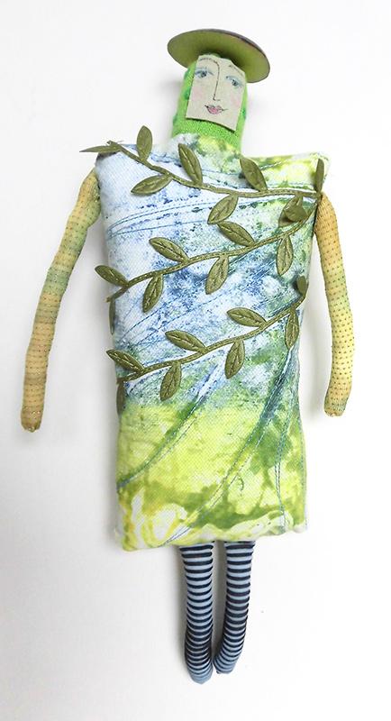 Art Doll - by Jennifer Gould