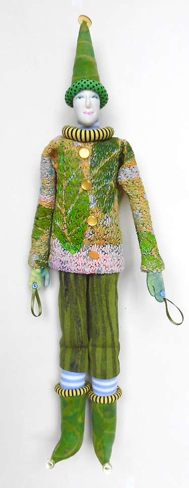 Button Jester - By Jennifer Gould, Grand Rapids, MI